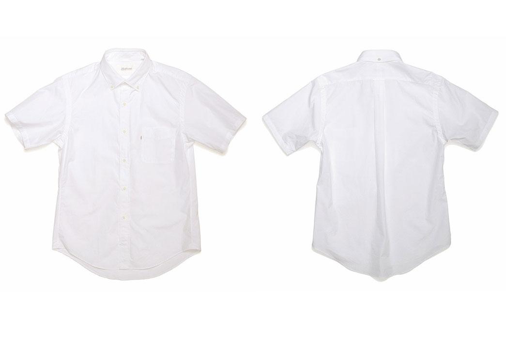 Shuttle-Notes-Officer-Short-Shirt - White