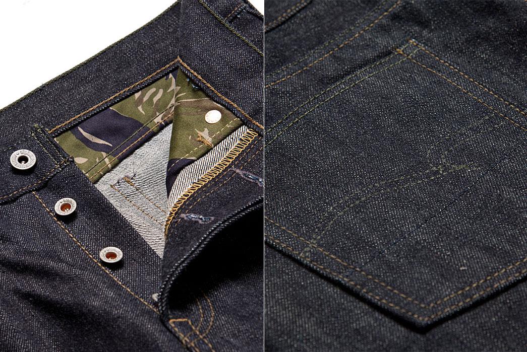 Studio-D'artisan-D1708-'Vietnam-War'-Jeans-button-yoke-back-pocket