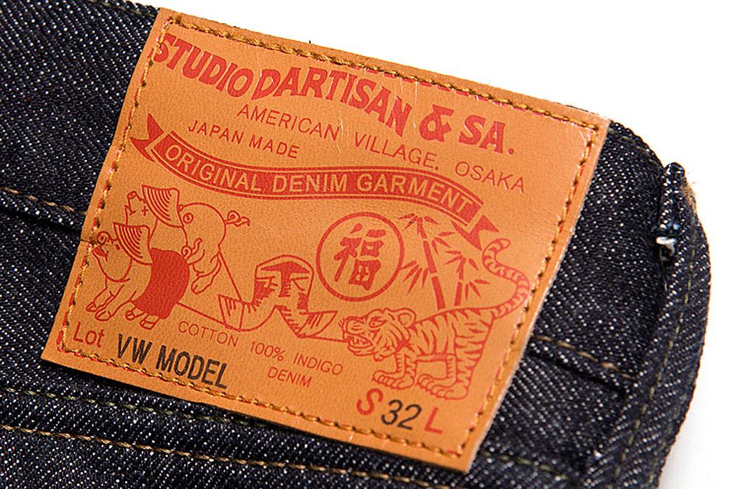 Studio-D'artisan-D1708-'Vietnam-War'-Jeans-patch