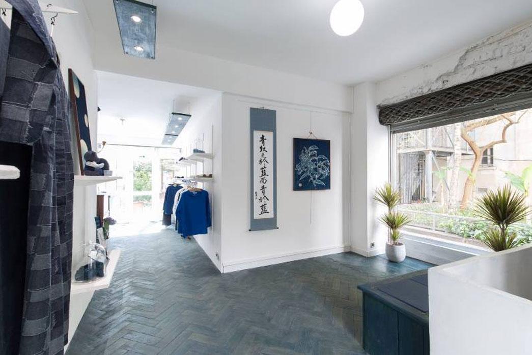 Japan Blue Opens Dedicated Paris Retail Store