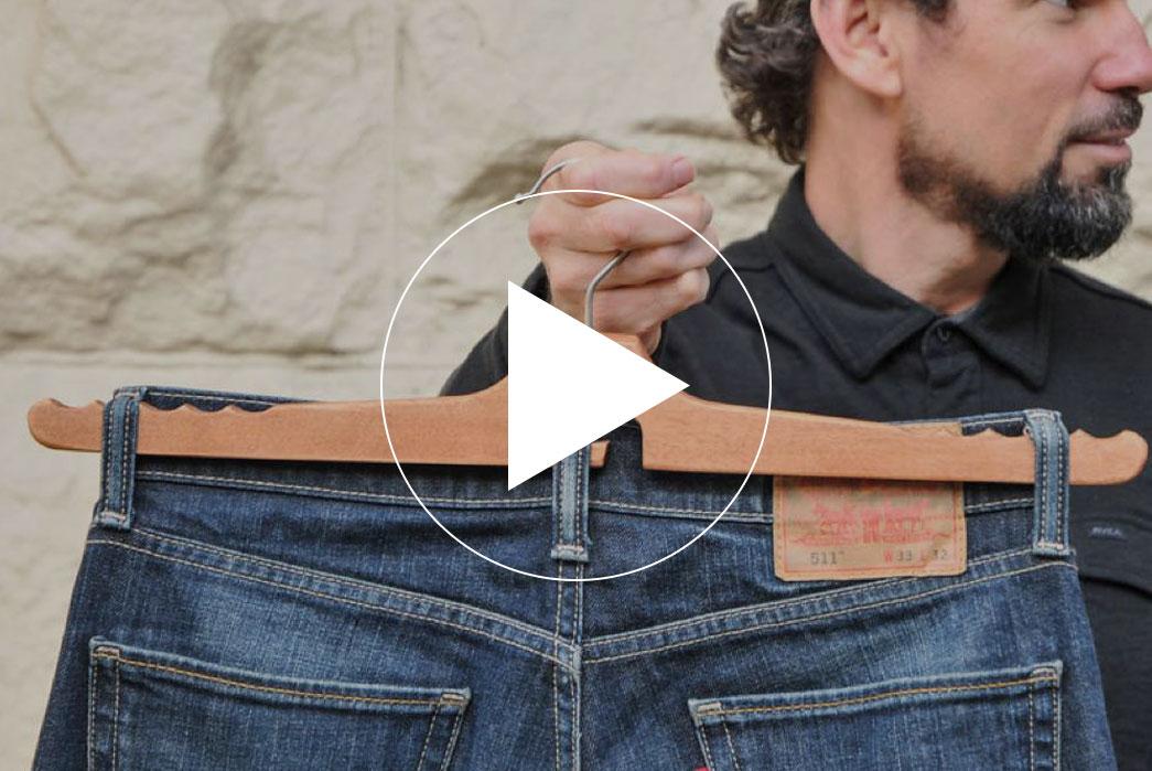 Jean Hanger Kickstarter - Dedicated Solution for Storing Jeans
