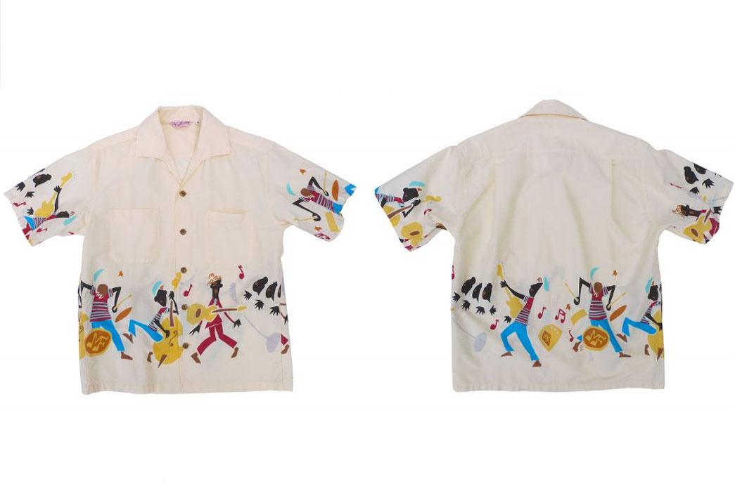 Mister Freedom x Sun Surf Rock 'n' Roll Aloha Shirts