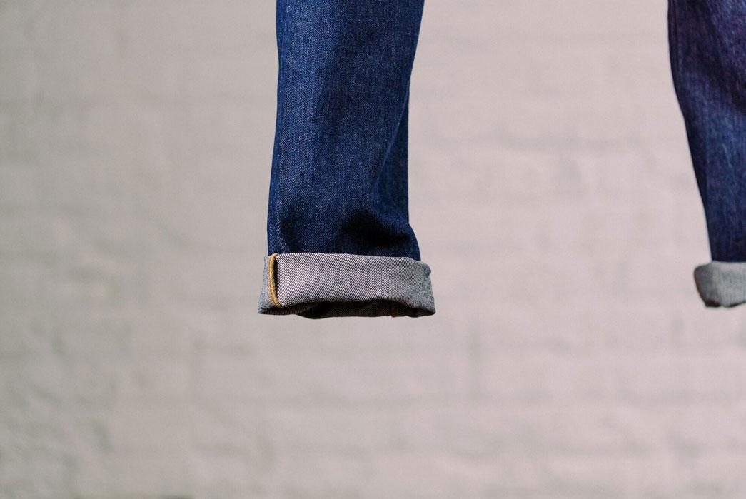 Shockoe Atelier $95 Deadstock Dungaree Jeans