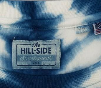 the-hill-side-x-buaisou-Hand-Dyed-Shibori-T-Shirt,-Natural-Indigo-closeup