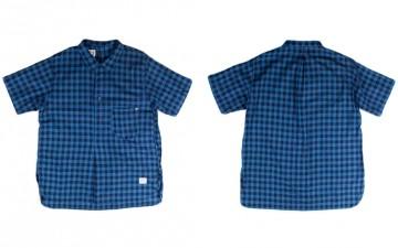 Anachronorm-Indigo-Check-PO-SS-Shirt-Front-Back