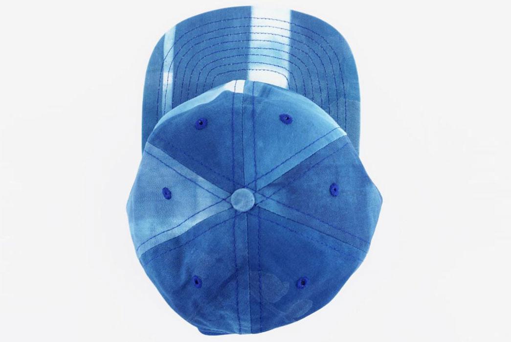 Armitageand-Mc-Millan-FairEnds-x-A&Mc-Shibori-Ball-Cap-From-above-1