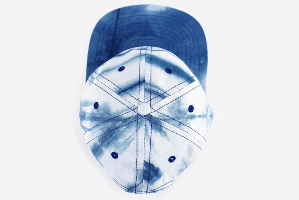 Armitageand-Mc-Millan-FairEnds-x-A&Mc-Shibori-Ball-Cap-From-above-2