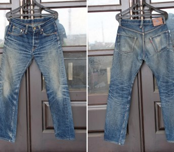 Fade of the Day – Samurai S5000GX-M (5 Years, Unknown Washes, Unknown Soaks) Front Back