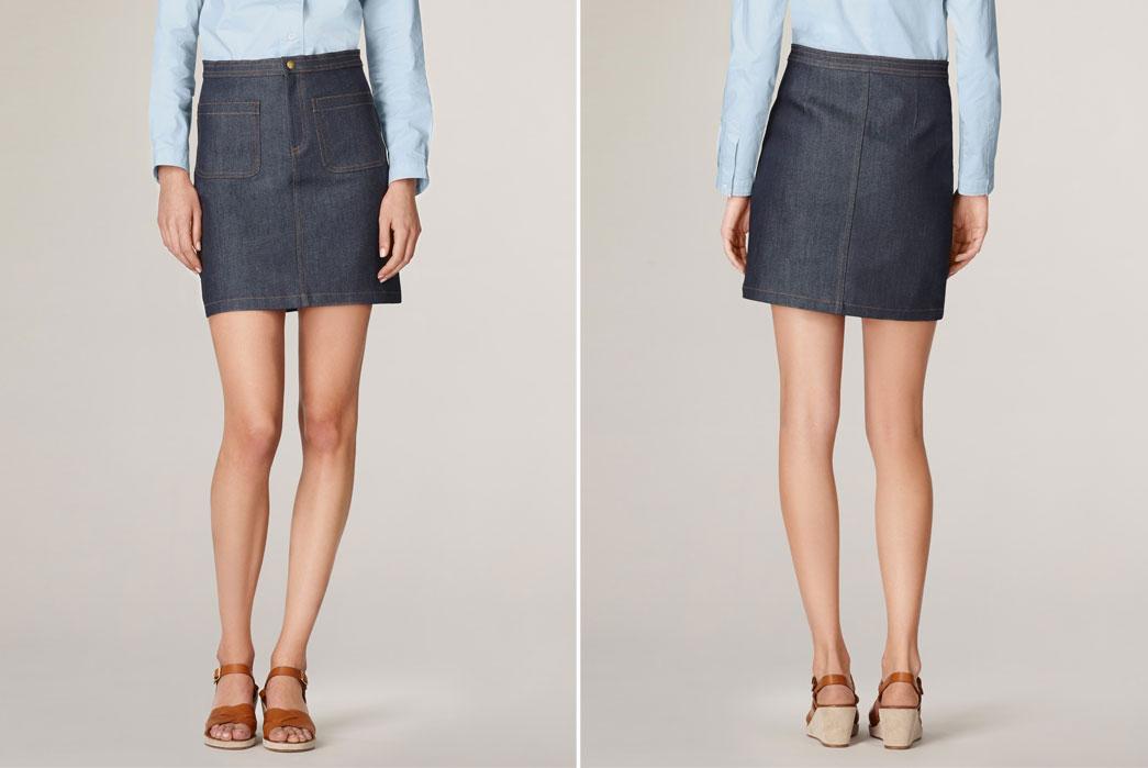 Denim-70S-Skirt-Front-Back