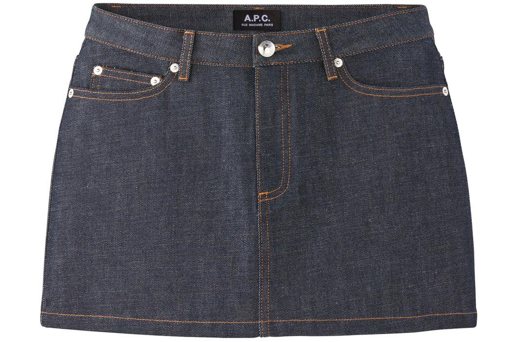 Denim-Mini-Skirt-Cloth
