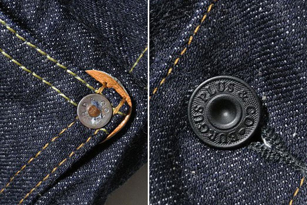 Denimio-Burgus-Plus-71928-Xx-Lot.71928-Natural-Indigo-Selvedge-1st-Type-Denim-Jacket-Button