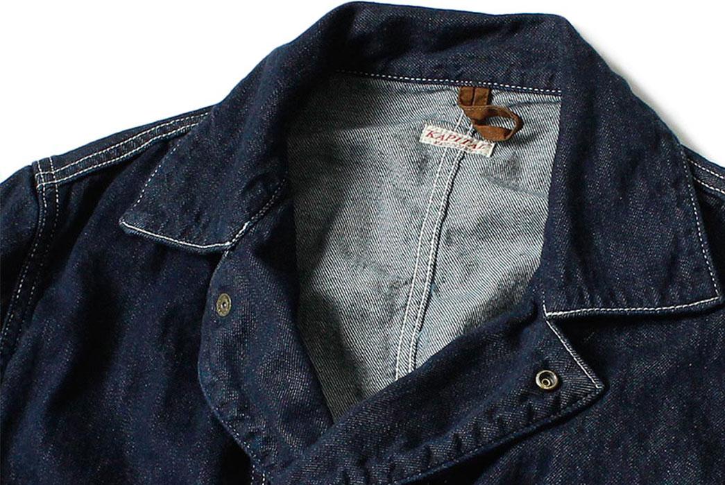 Kapital-8oz-Denim-Monkey-Sukiyaki-Coverall-Collar