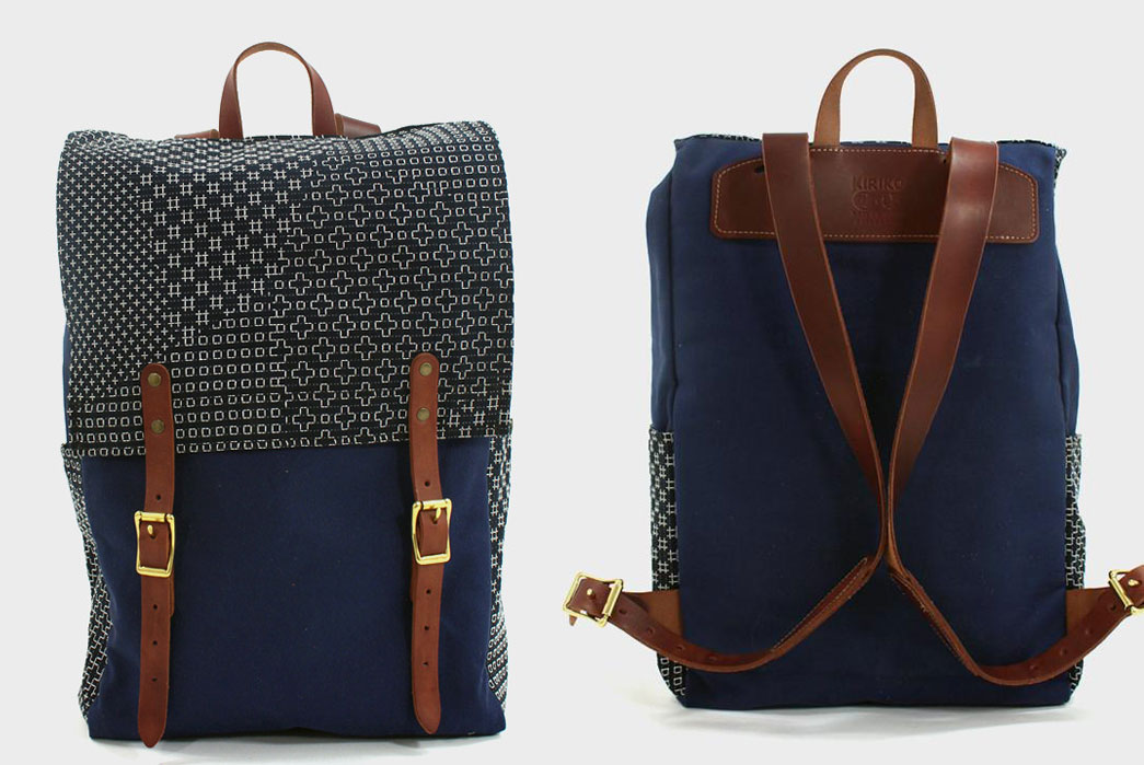Kiriko-X-Red-Clouds-Collective-Navy-Backpack-Front-Back