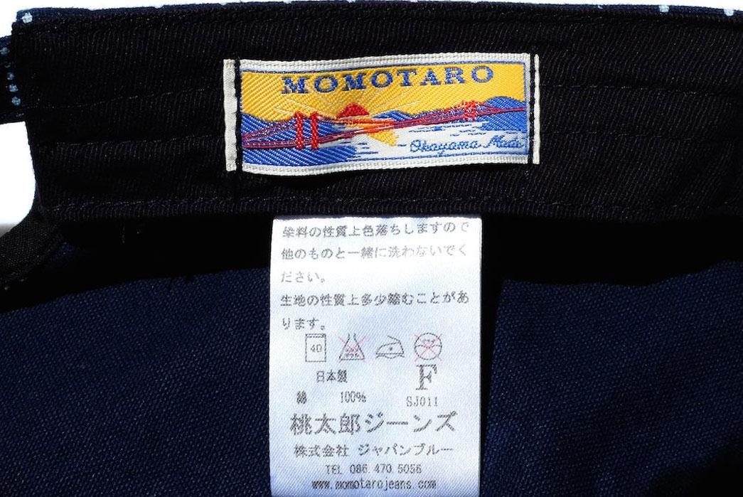 Momotaro-Denim-Railroad-Indigo-Wabash-Work-Hat-Patch