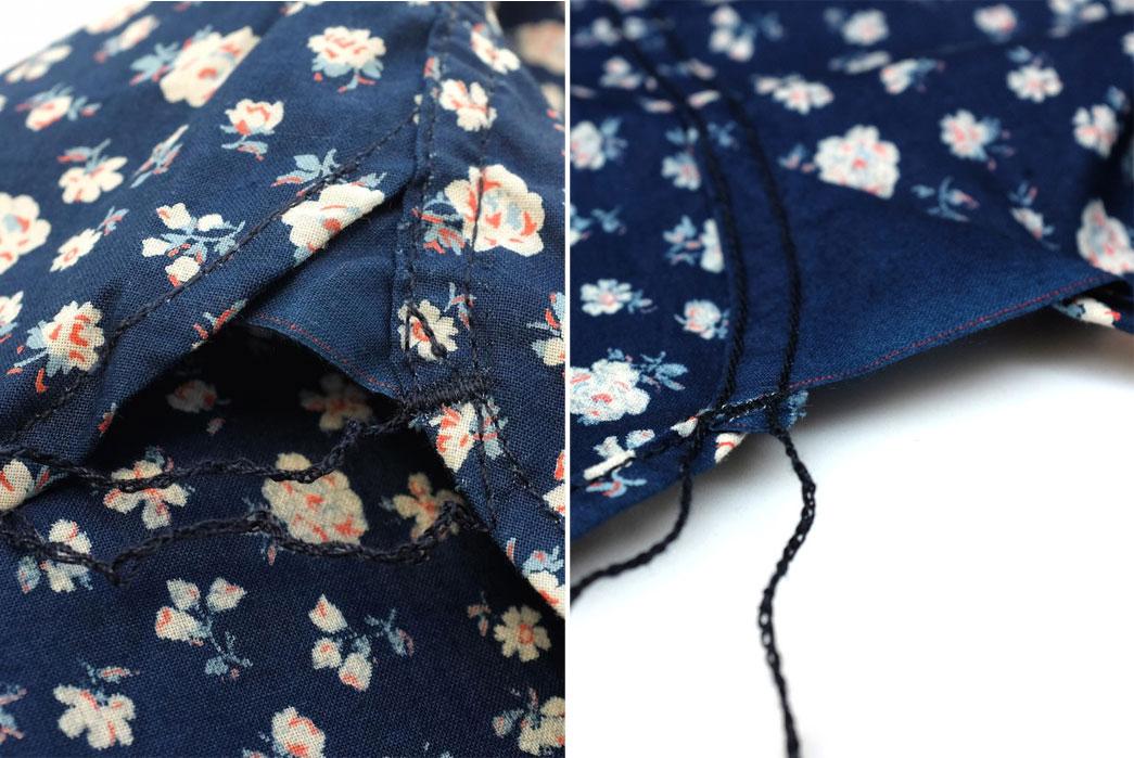 Momotaro-OD+MJ-Indigo-Floral-Selvedge-SS-Shirt-Thread
