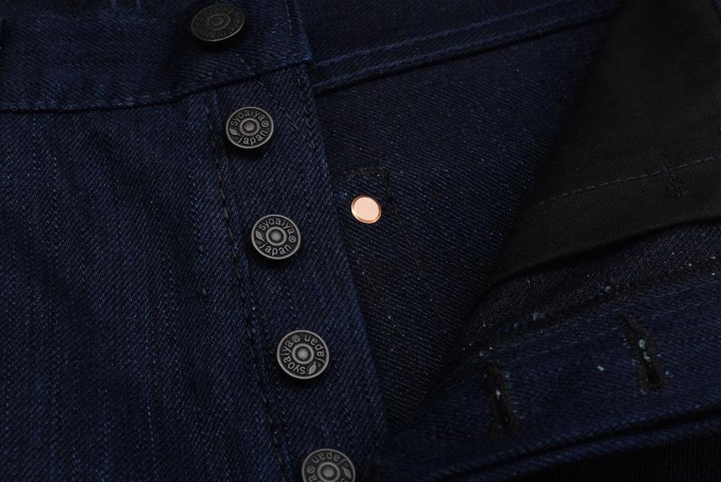 Pure Blue Japan KS-013-WID Double Indigo Knubbed Jeans