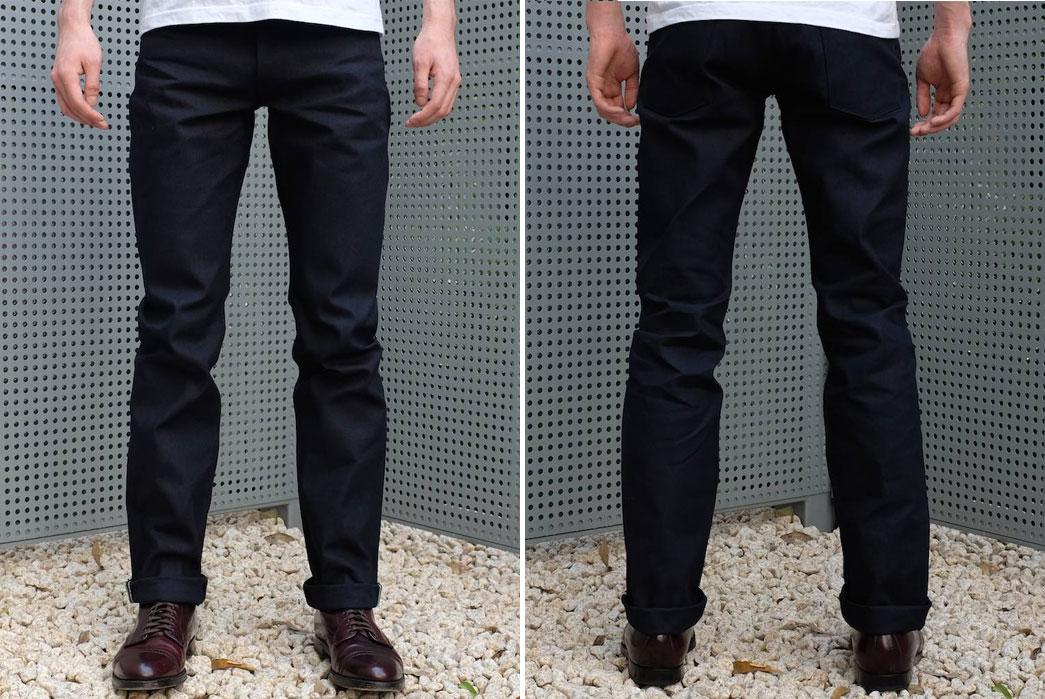aeda10dc75d Stevenson Overall Co. x Okayama Denim 727 La Jolla Jeans in Indigo ...
