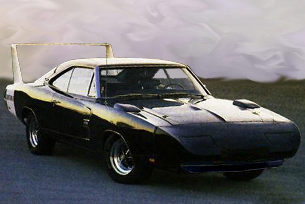 Dodge 1969 Daytona Charger. Image via J Mooney Ham.