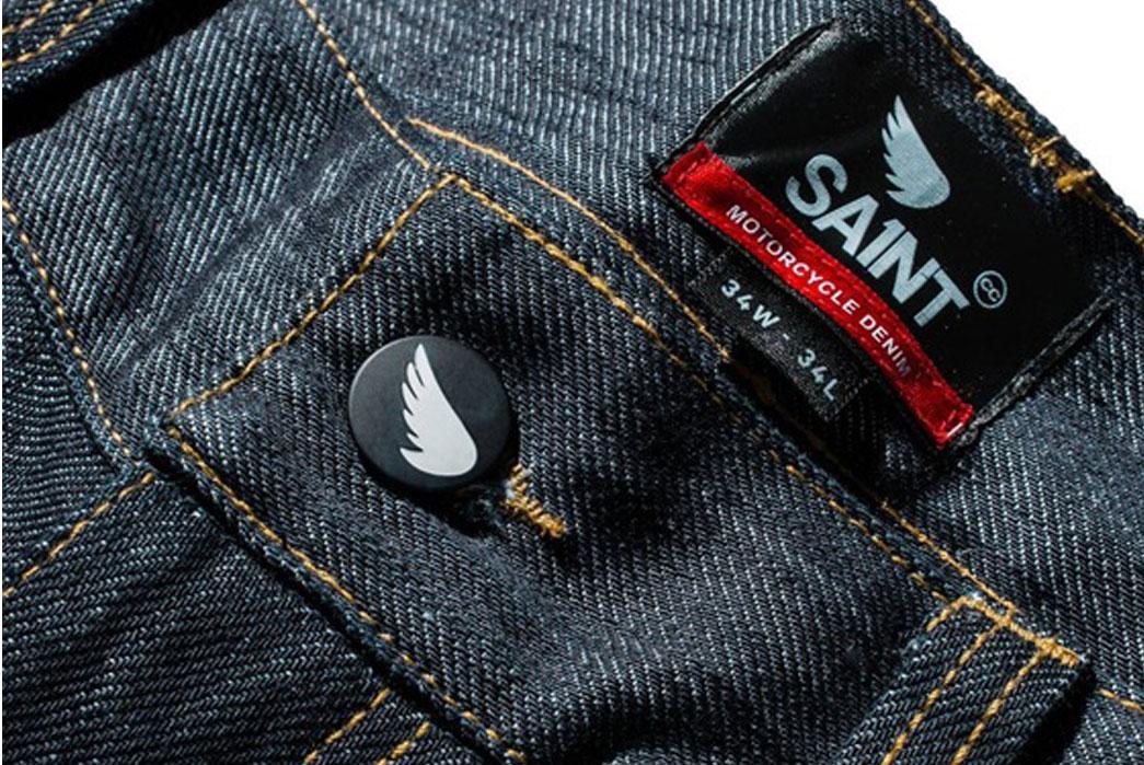 "Saint ""Unbreakable"" Dyneema Denim Jeans and Jacket"
