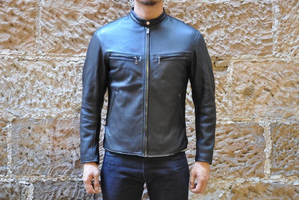The Flat Head: Deerskin Rider Jacket