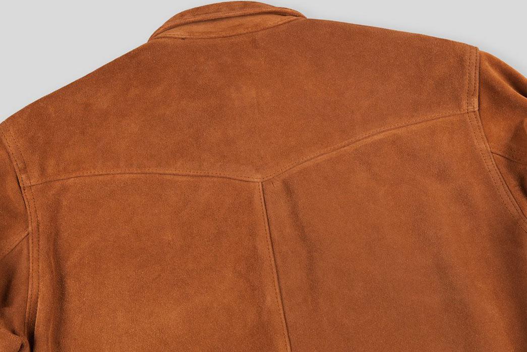 Indigofera-Hawley-Goat-Suede-Western-Shirt-Back