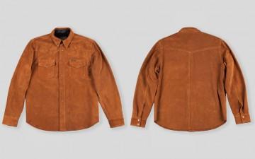 Indigofera-Hawley-Goat-Suede-Western-Shirt-Front-Back