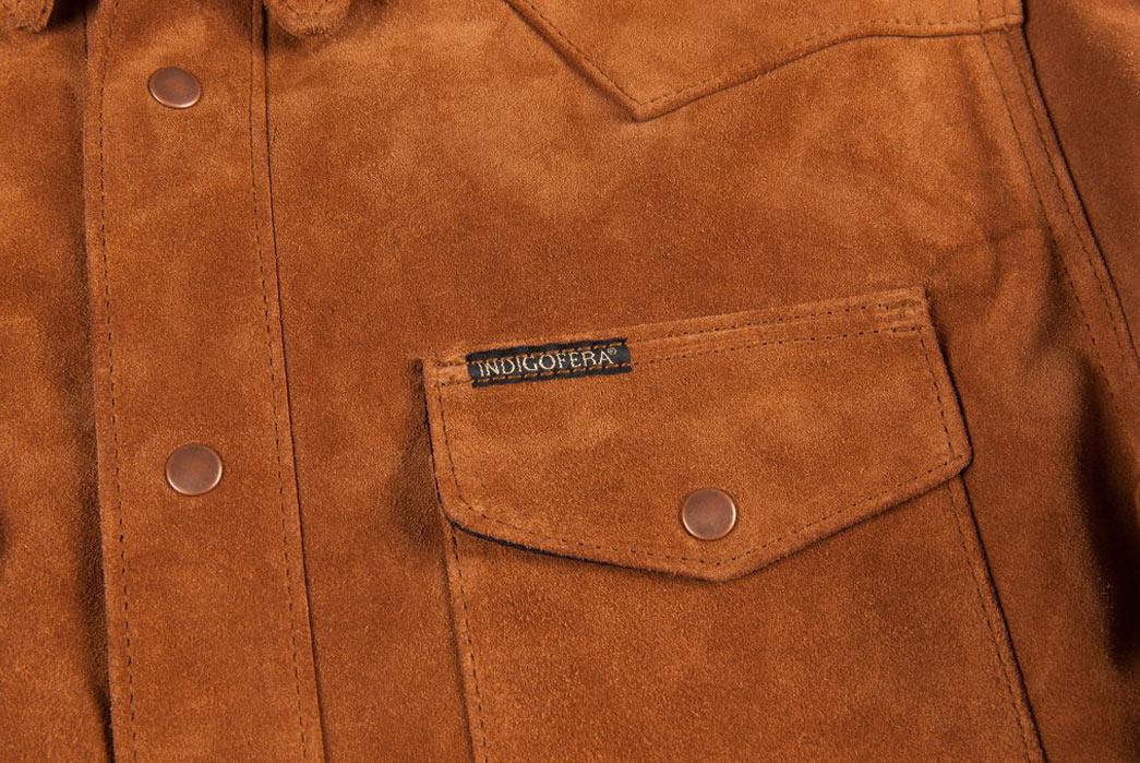 Indigofera-Hawley-Goat-Suede-Western-Shirt-Pocket