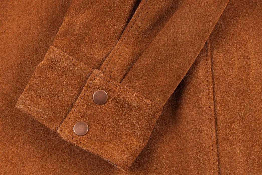 Indigofera-Hawley-Goat-Suede-Western-Shirt-Sleeve
