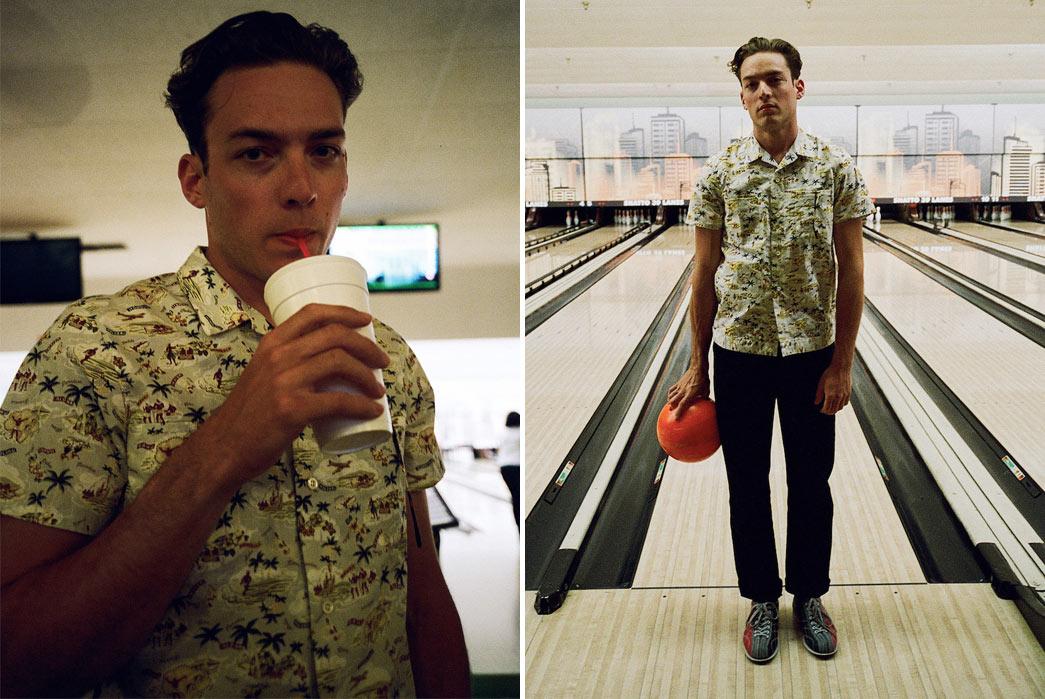Knickerbocker-Mfg.-Co.-Hawaiian-Shirt-Model-Bowling