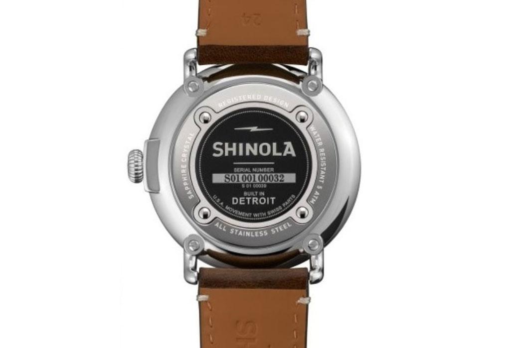 "Shinola Quietly Qualifies ""Built in Detroit"" Labeling"
