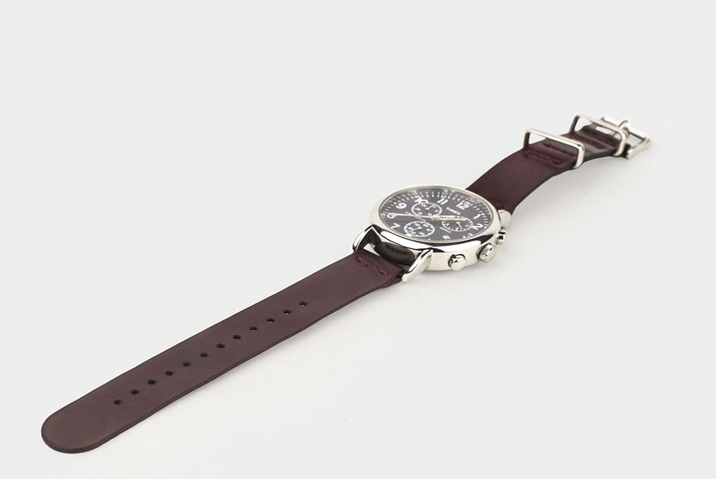 Winter-Session-Shell-Cordovan-Watch-Straps-Burgundy