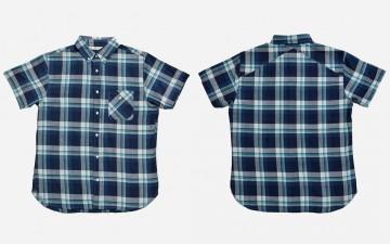 3sixteen-Short-Sleeve-Workshirt-Indigo-Front-Back