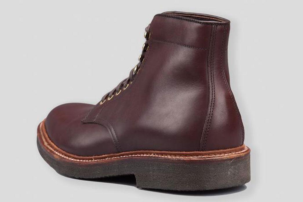 Alden-x-Standard-&-Strange-4513H-Brown-Pegasus-Calfskin-Plain-Toe-Boot-Back