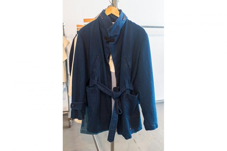 Bleu-de-paname-indigo-moleskin-belted-jacket-man-ss17
