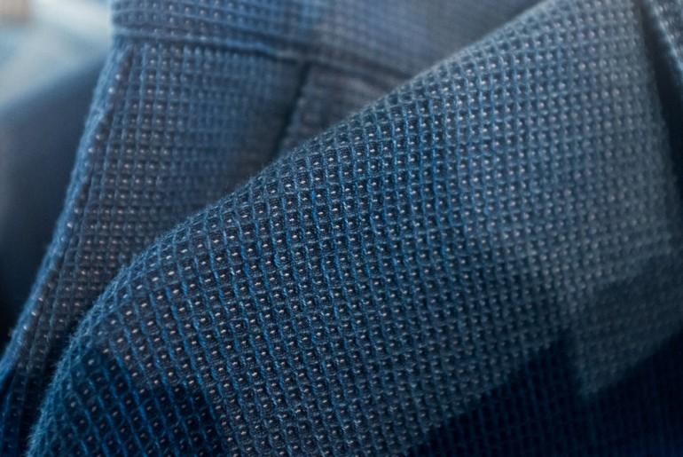 Bleu-de-paname-indigo-waffle-knit-fabric-man-ss17