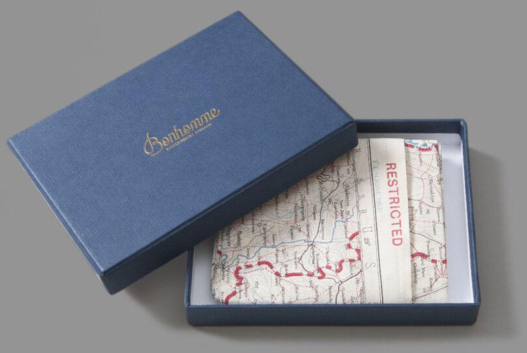 Bonhomme-Vintage-British-Army-Escape-Scarves-Box