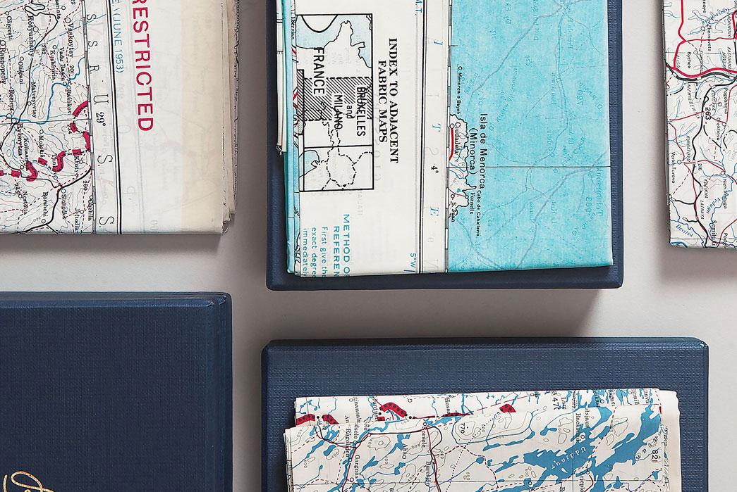 Bonhomme-Vintage-British-Army-Escape-Scarves-In-Box