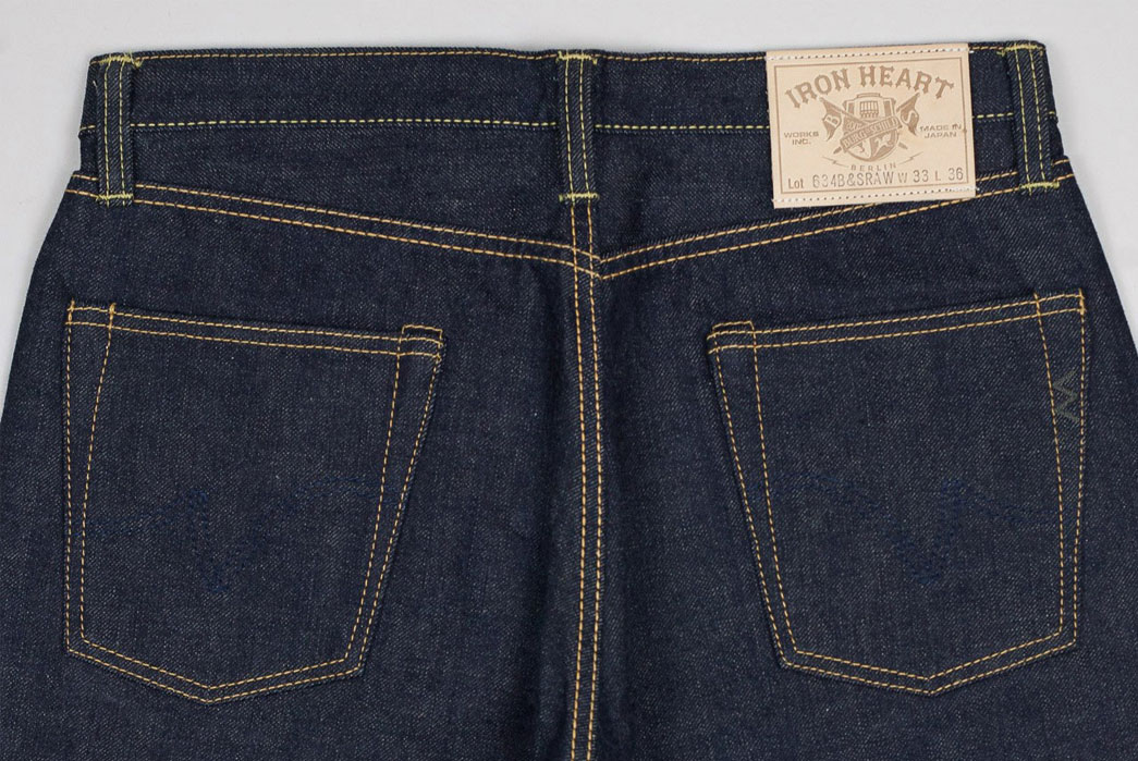 Burg-&-Schild-x-Iron-Heart-634B&S-RAW-Loomstate-Jeans-Back