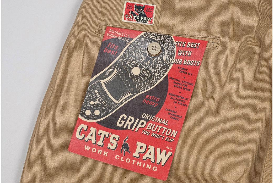 Cat's-Paw-Khaki-Worker-Chinos-Pocket-Flasher