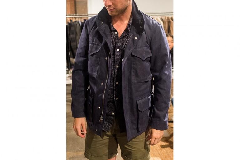 Corridor-NYC-indigo-field-jacket-man-ss17