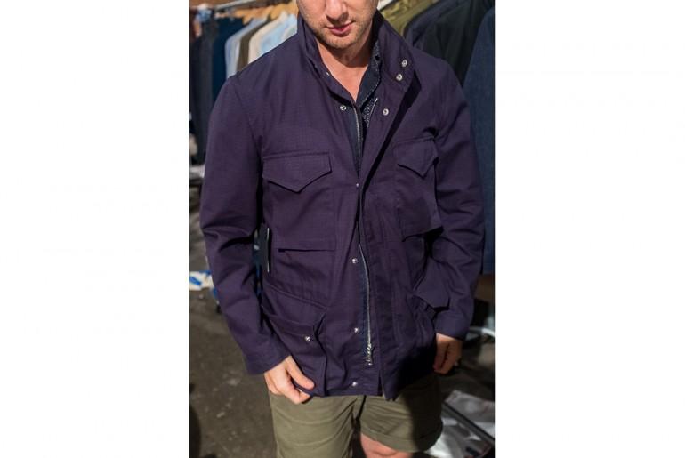 Corridor-NYC-navy-cotton-ripstop-field-jacket-man-ss17