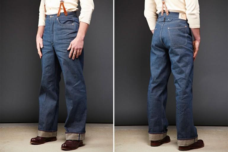 Dawson-Denim-DD03-White-Selvedge-Wide-Leg-Jeans-Model-Front-Back</a>
