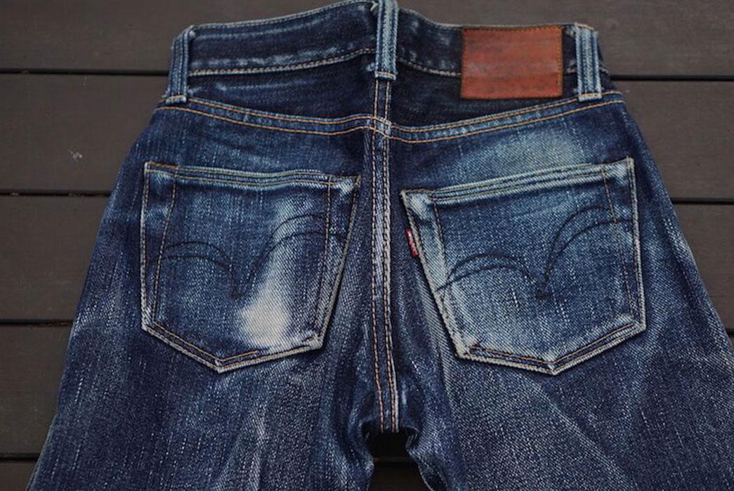 Fade-Friday-Samurai-Jeans-24-oz.-S510XX-Back-Closeup