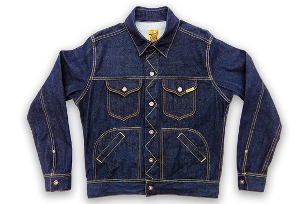 Ande Whall Grizzly Jean Jacket