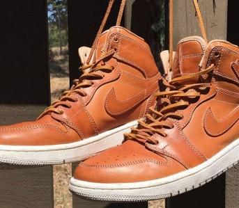 Nike Jordan 1 Pinnacle Vachetta Tan