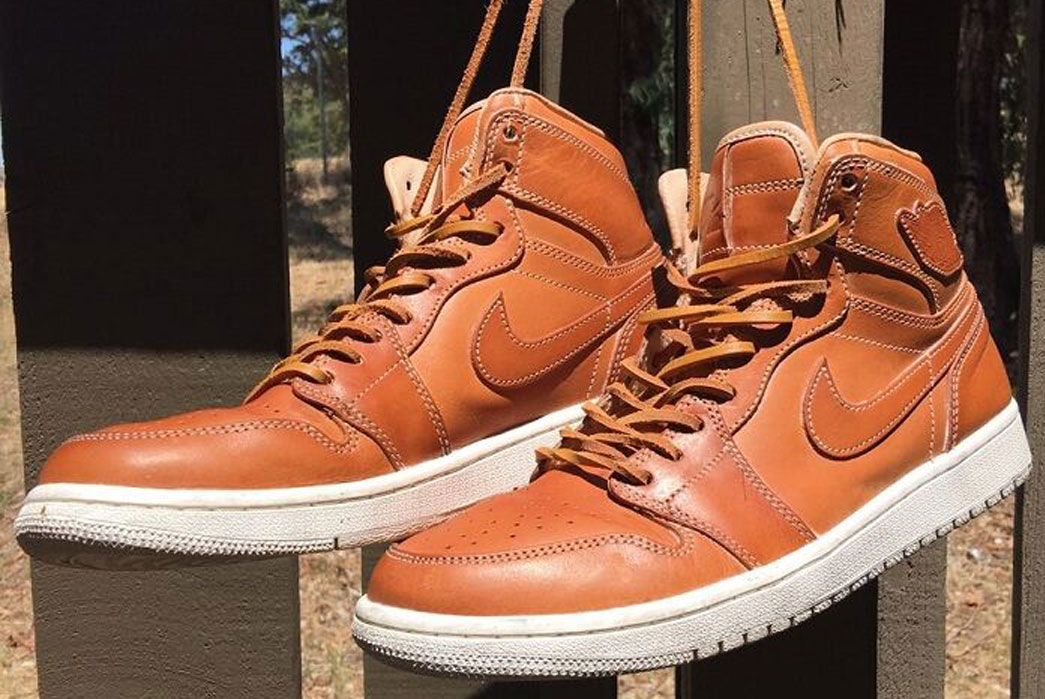 Nike Jordan 1 Pinnacle Vachetta Tan
