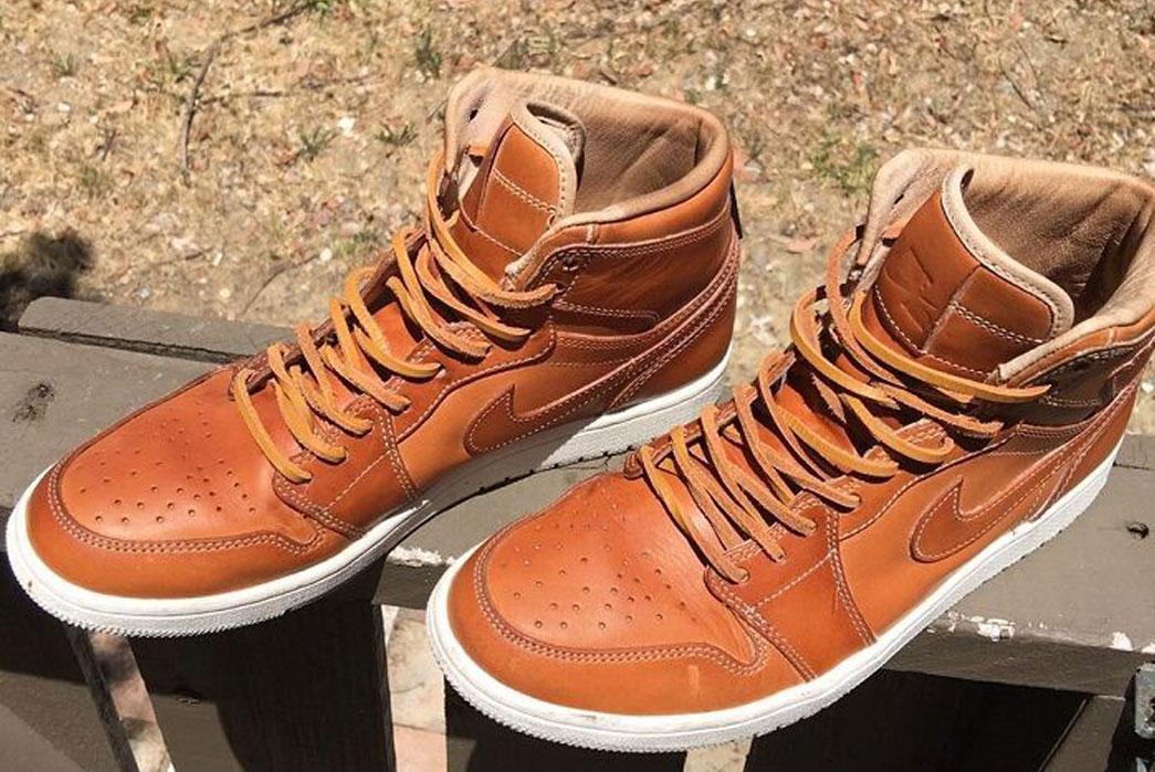 Nike Jordan 1 Pinnacle Vachetta Tan (9