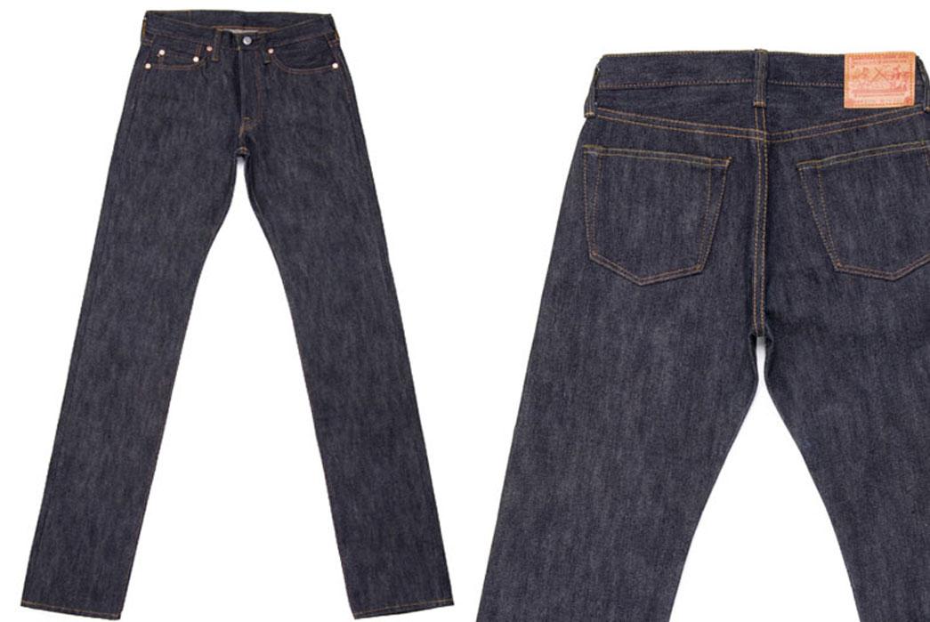 Samurai Jeans S710XX Raw Denim Jeans