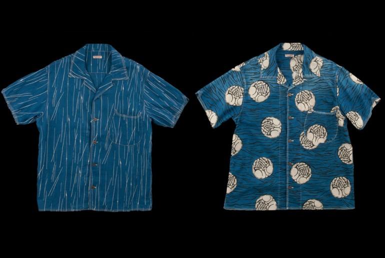 Kapital-Aloha-Lawn-Hands-Rain-Wabash-Indigo-Shirts-Front-Back</a>
