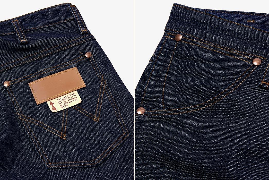Nonnative-Cowboy-5p-Jeans-11mwz-Cotton-13oz-Denim-Nw-By-Wrangler-Closeup